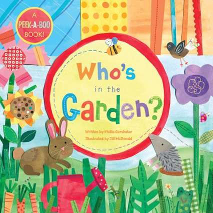 Board Book Who's in the Garden