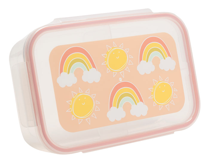 ORE Good Lunch Bento Box Divided Container - Rainbows & Sunshine