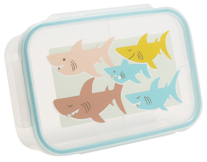 ORE Good Lunch Bento Box Divided Container - Smiley Shark