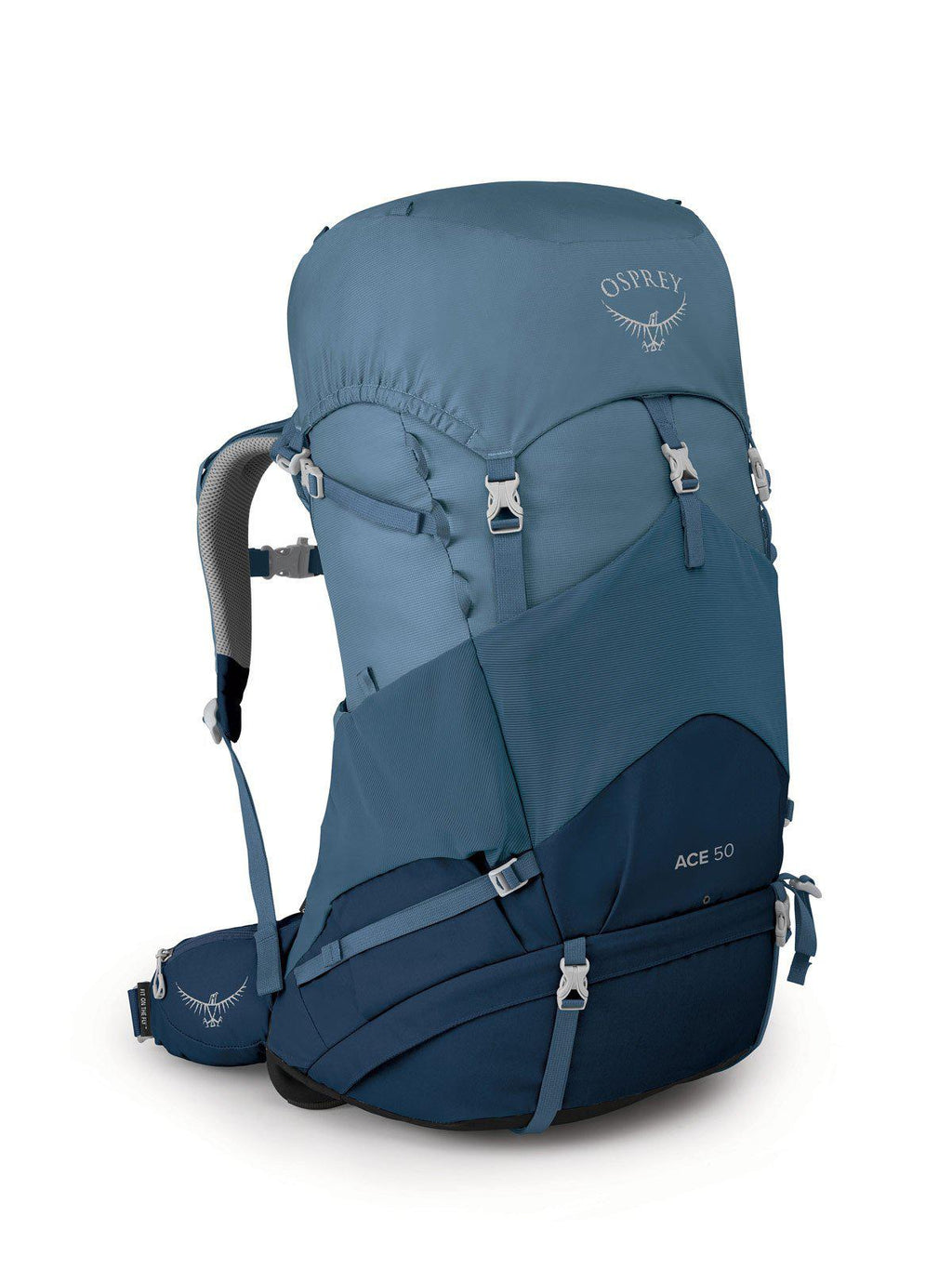 Osprey Backpack - Ace 50L - Blue Hills