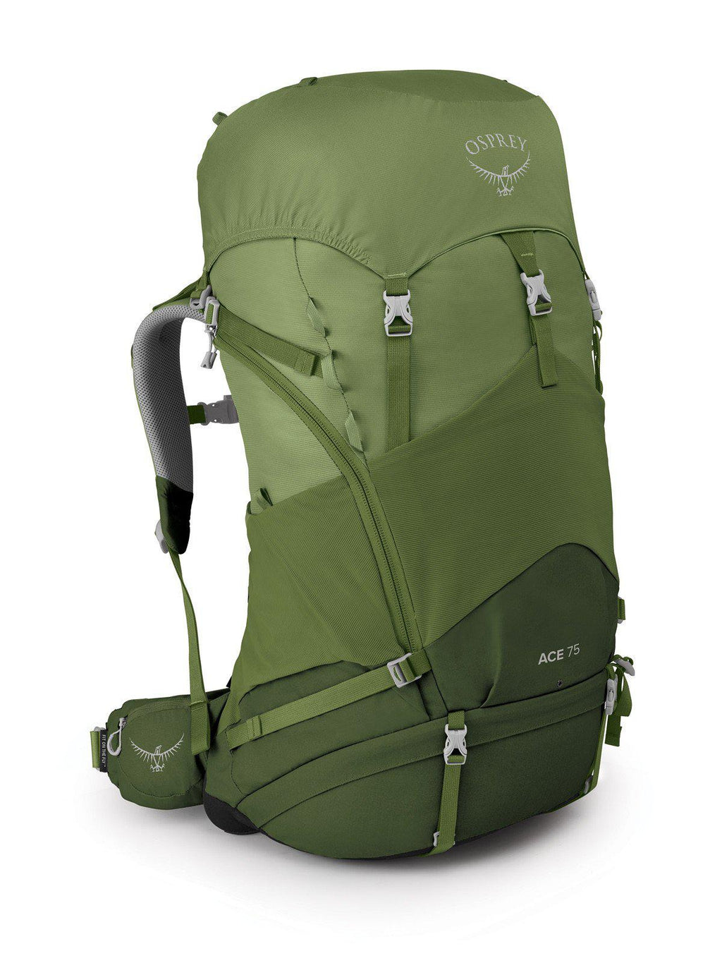 Osprey Backpack - Ace 75L - Venture Green