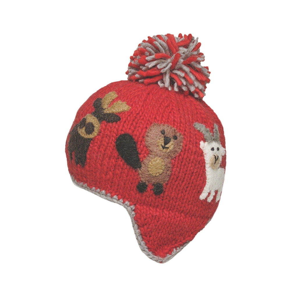 Ambler Kids Toque - Canuck - Flame