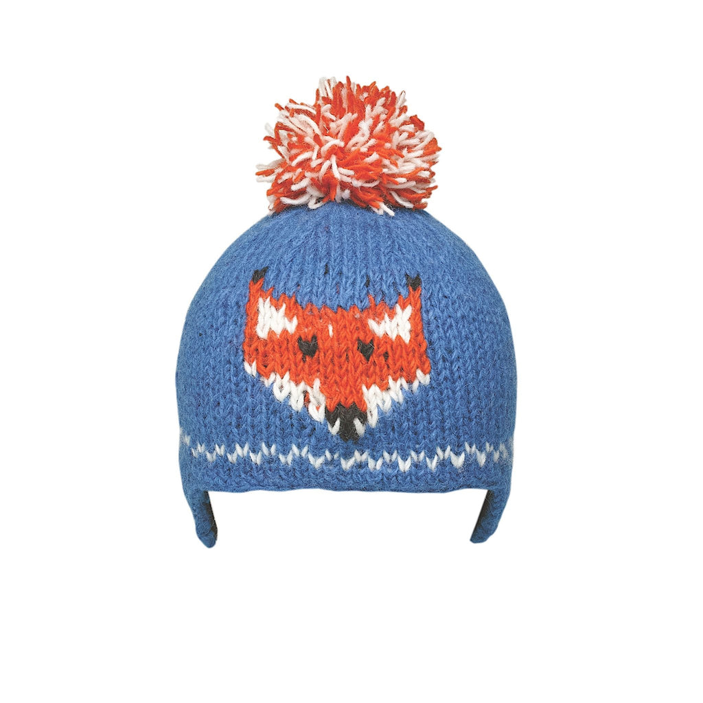 Ambler Kids Toque - Creatures - Raccoon - Ocean