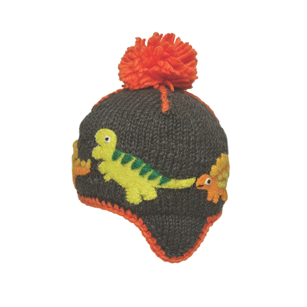 Ambler Kids Toque - Dino - Charcoal