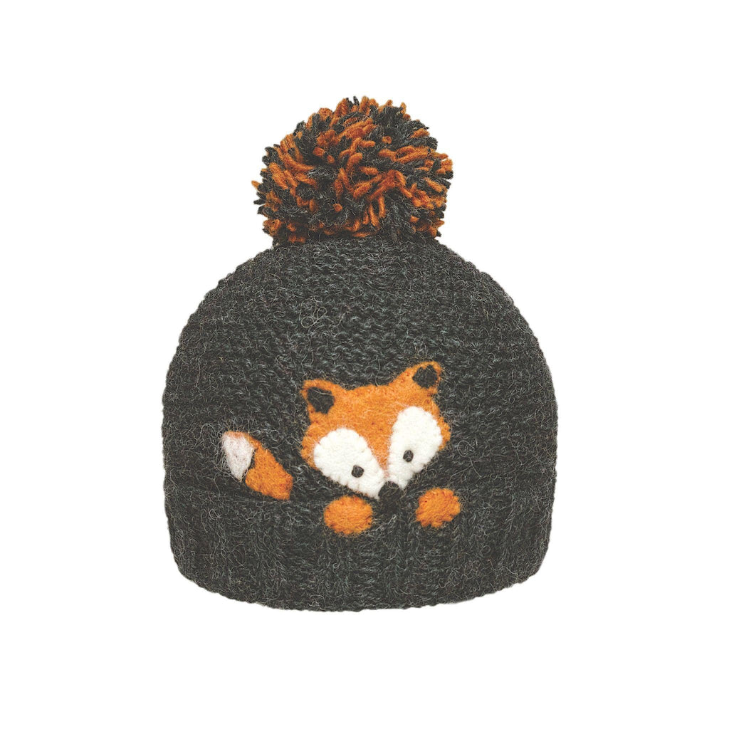 Ambler Kids Toque - Peek-A-Boo - Fox