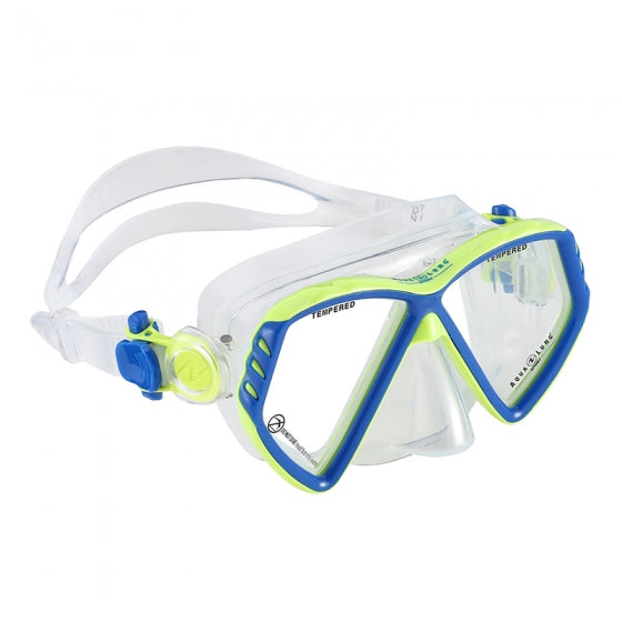 Aqua Lung Cub Snorkelling Mask Jr. 4+ Blue/Green