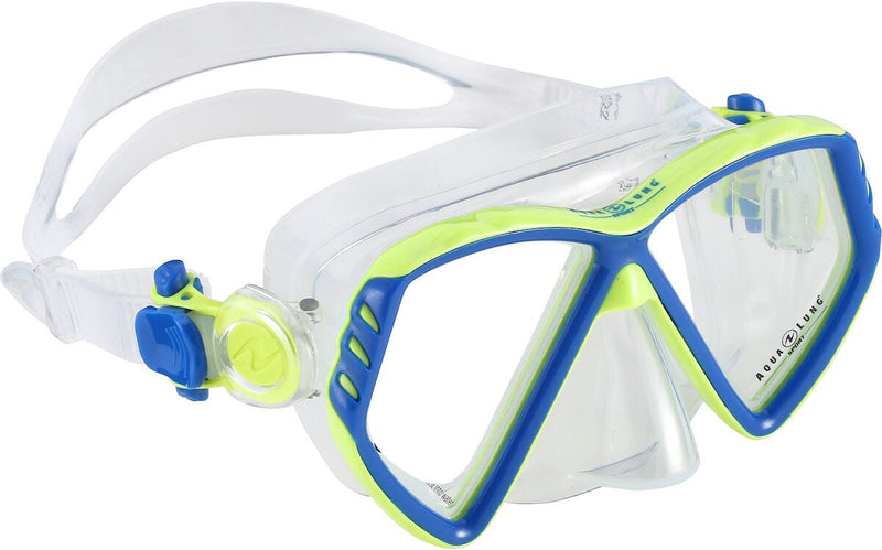 Aqua Lung Cub Snorkelling Mask Jr. 6+ Blue/Green