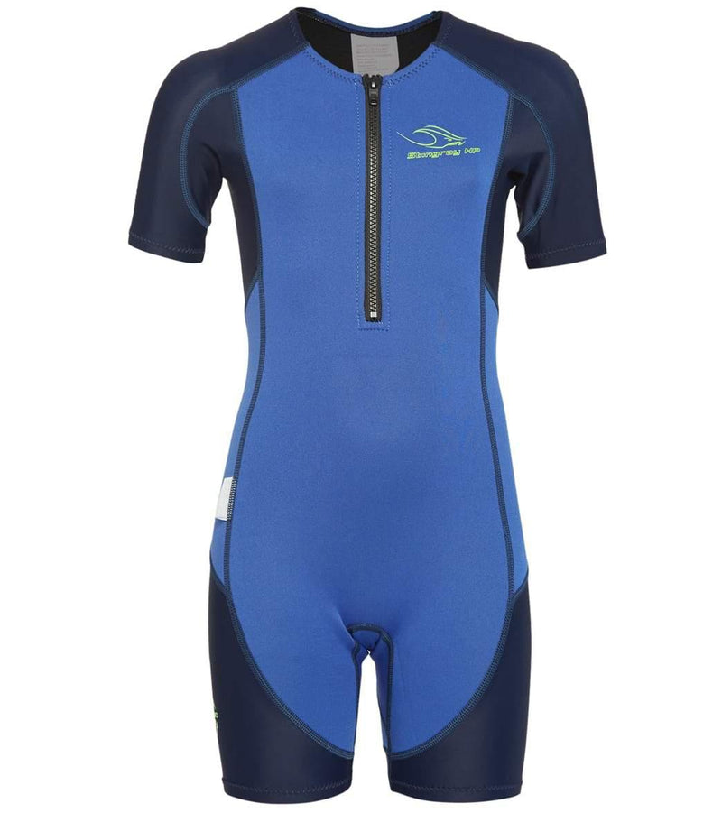 AQ Phelps Stingray HP Core Warmer Wetsuit - Blue/Navy Blue