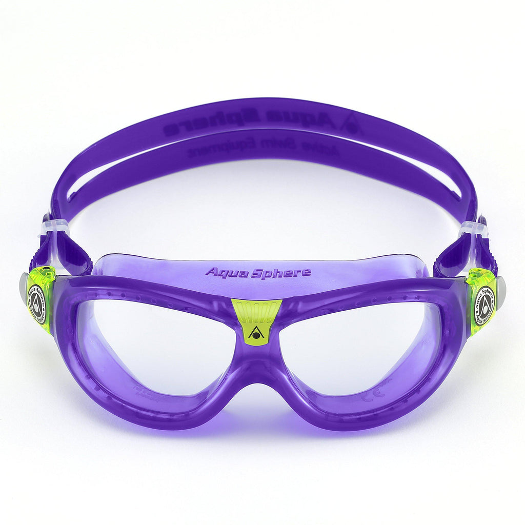 Aqua Sphere Seal Kid 2 Swim Goggle - Clear/Violet/Lime