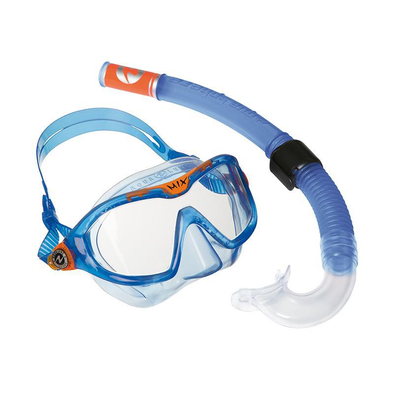 Aqua Lung Swimming Mask & Snorkel Combo Mix - Blue