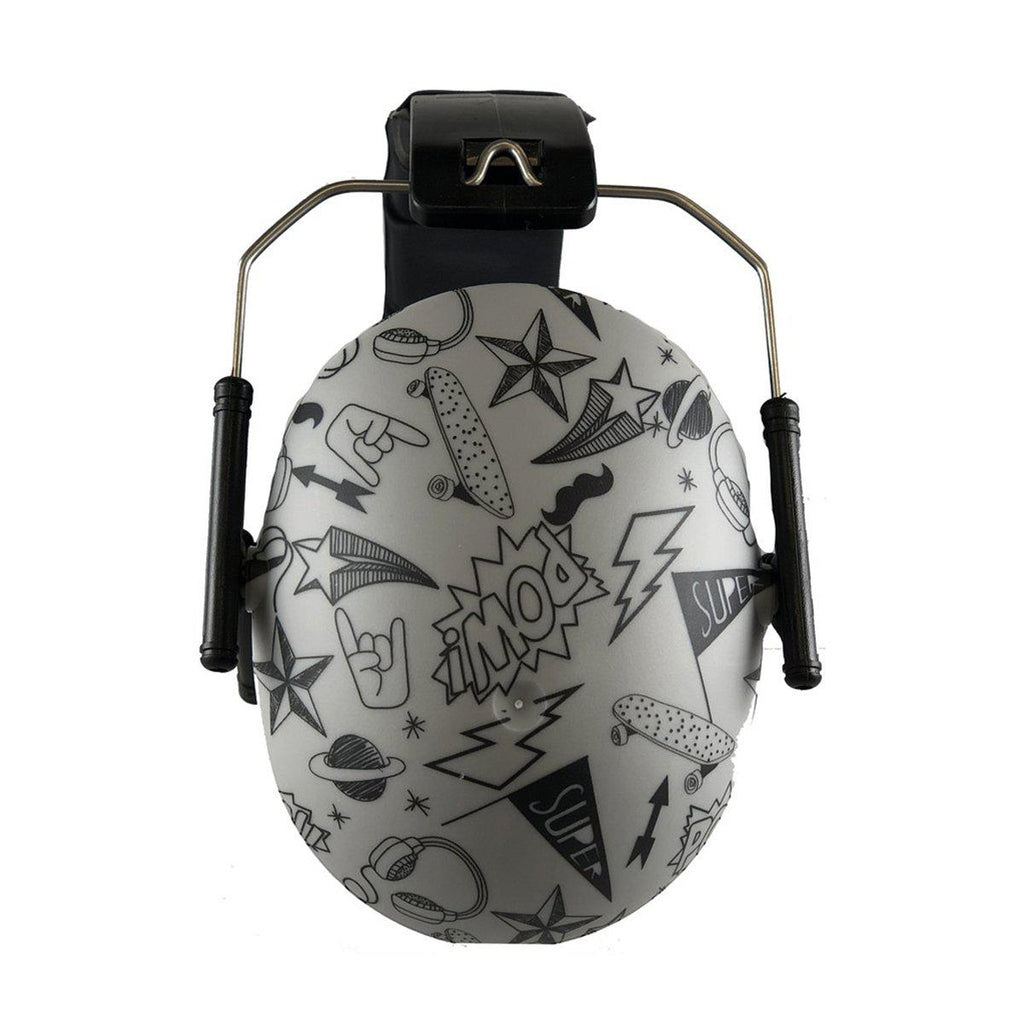 Banz Children's Earmuffs - 2+ Year - Graffiti