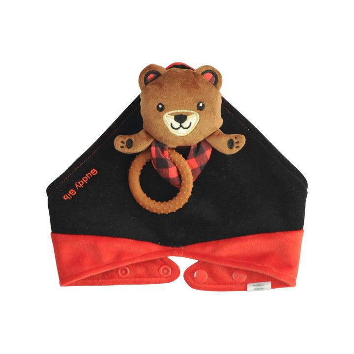 Malarkey Kids Buddy Bib - Brown Bear