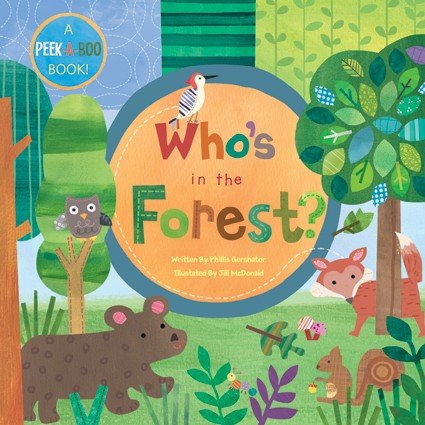 Board Book Who's in the Forest