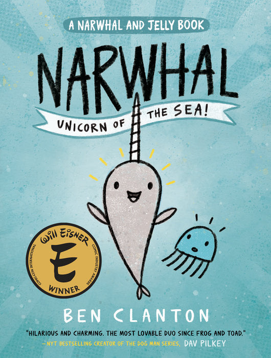 Book - Narwhal: Unicorn of the Sea (A Narwhal and Jelly Book #1)