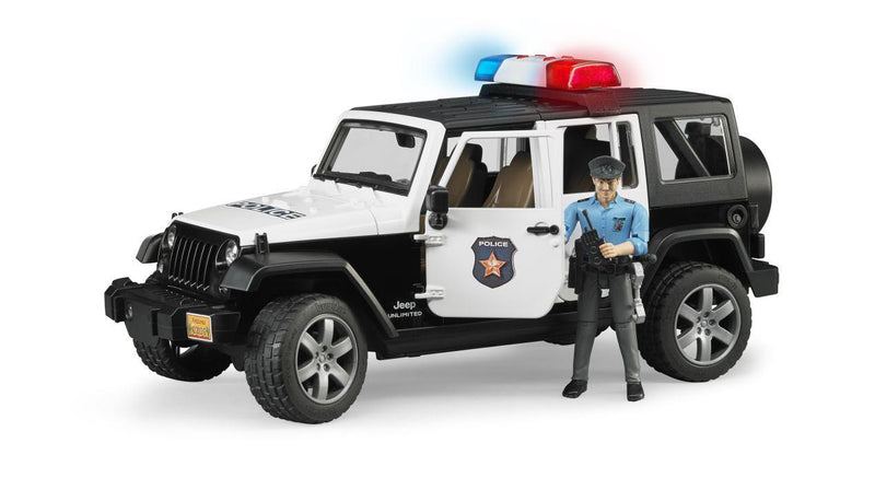 Jeep Rubicon Police w Figure