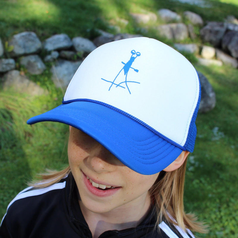 B & X Trucker Hat - Bug - Blue