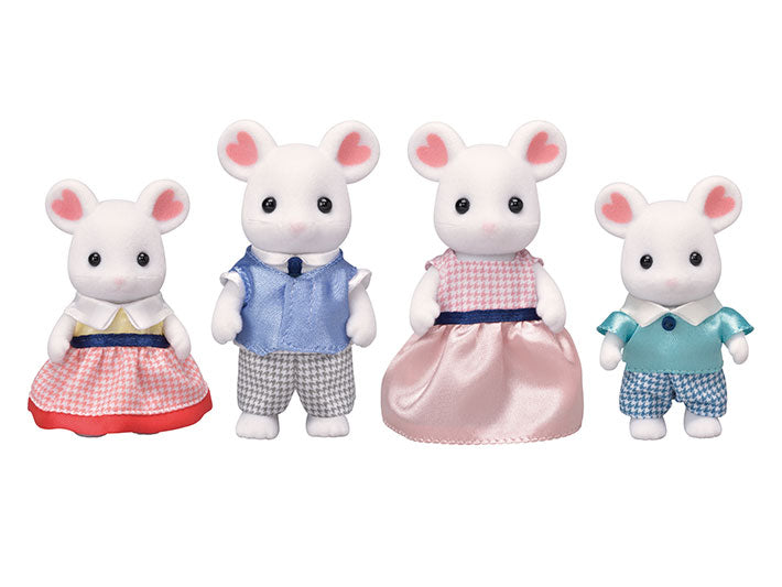 CC/ Marshmallow Mouse Family