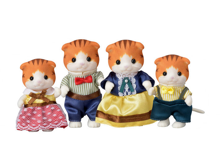 Calico Critters - Maple Cat Family