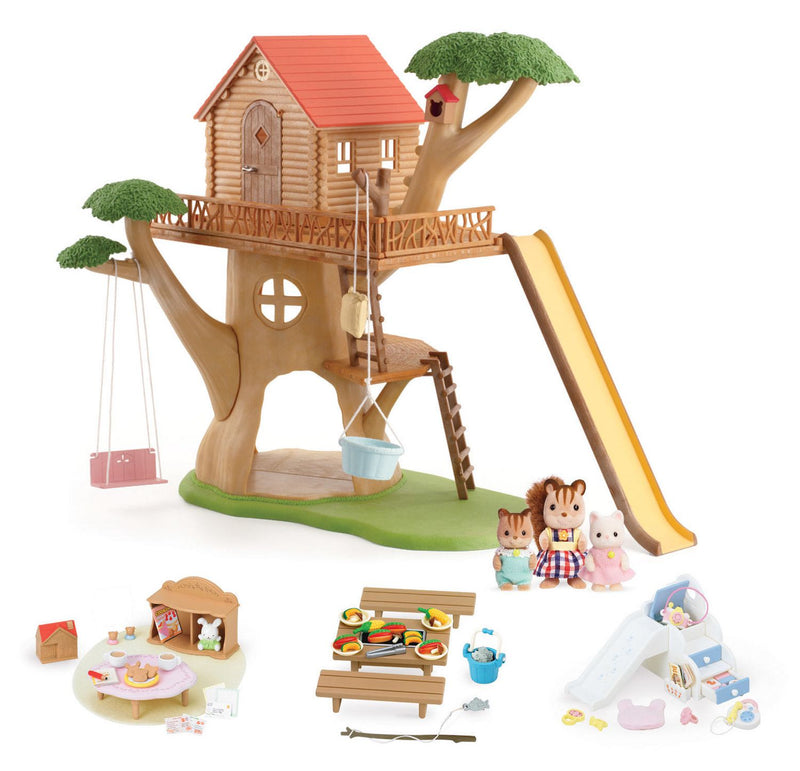 Calico Critters - Adventure Tree House Gift Set