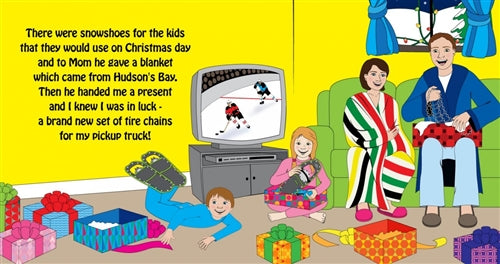 Book - The Night Before A Canadian Christmas