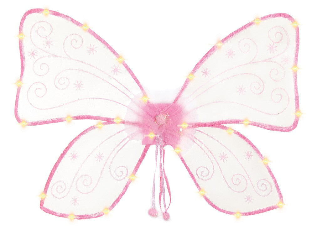 Light Up Wings Pink