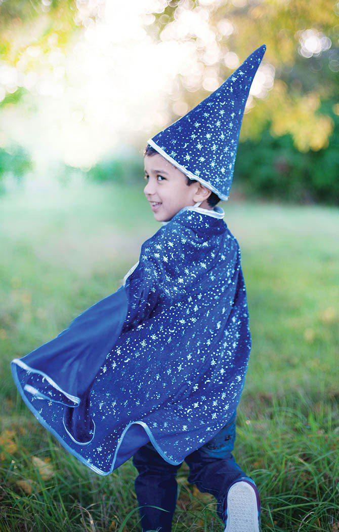 Glitter Wizard Cape/Hat S/M