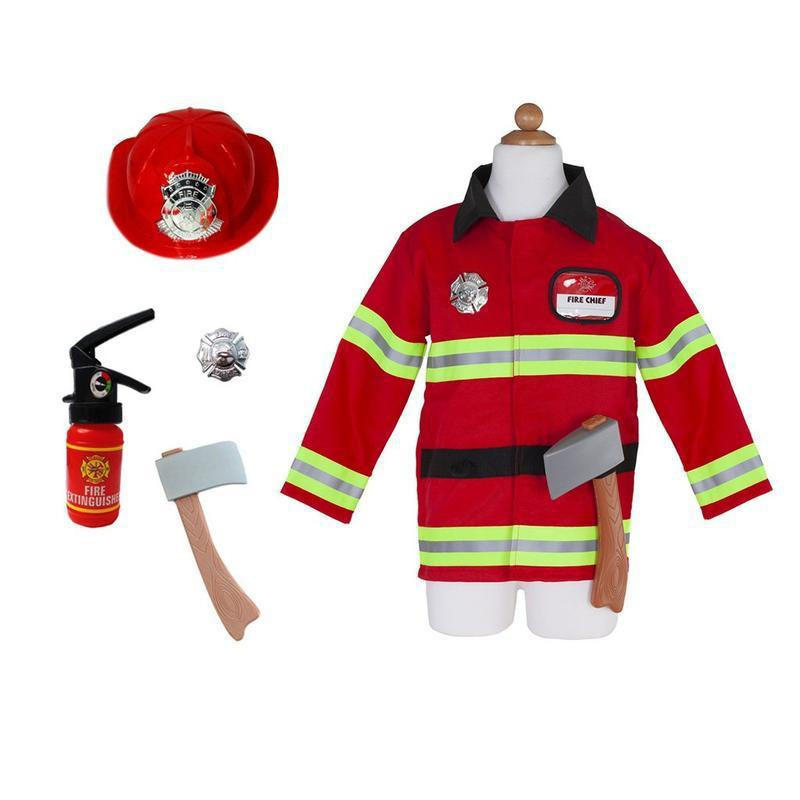 Firefighter Costume W/Acc