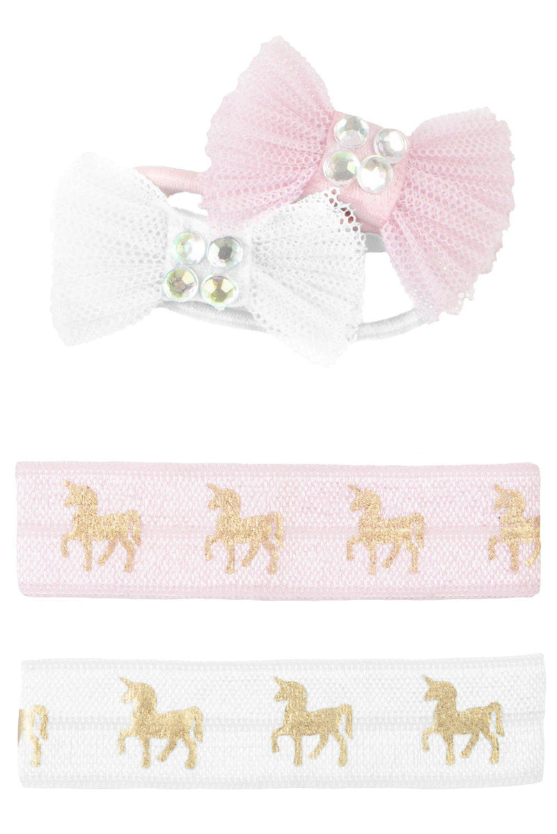 Unicorn Ties & Bows