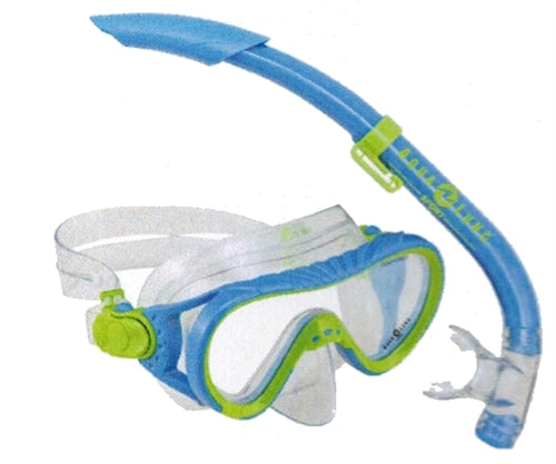 Coral Jr. Snorkel/Mask - Blue