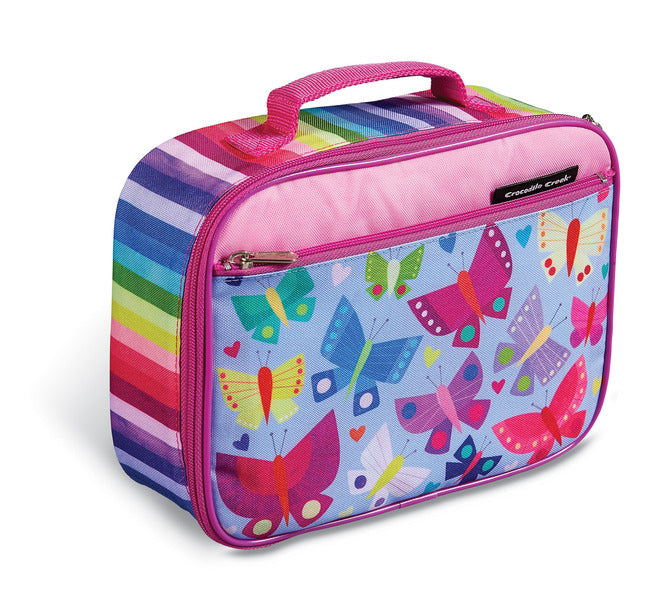 Crocodile Creek Classic Lunchbox - Butterflies