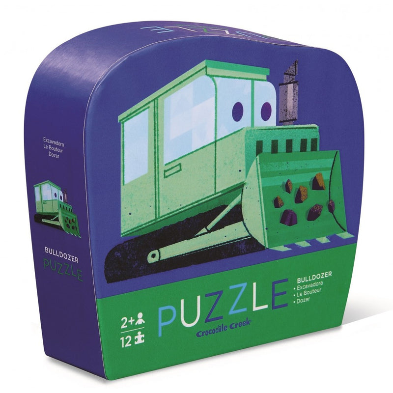 Puzzle 12pc Mini Bulldozer