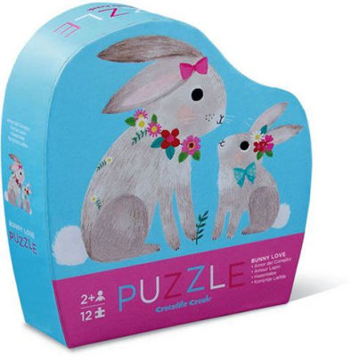 Puzzle 12pc Bunny Love