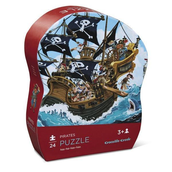 Puzzle 24pc Mini Pirates