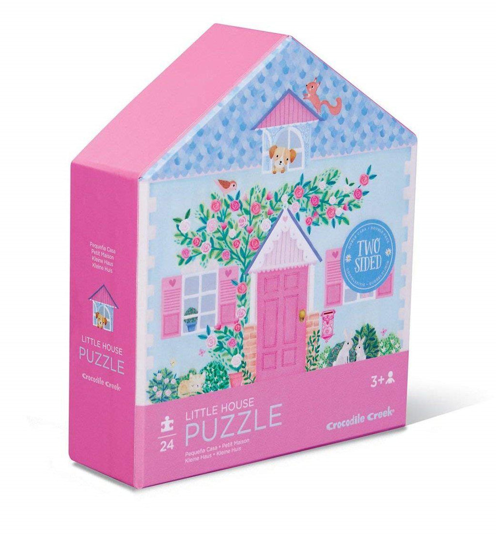 Puzzle 24pc 2side House