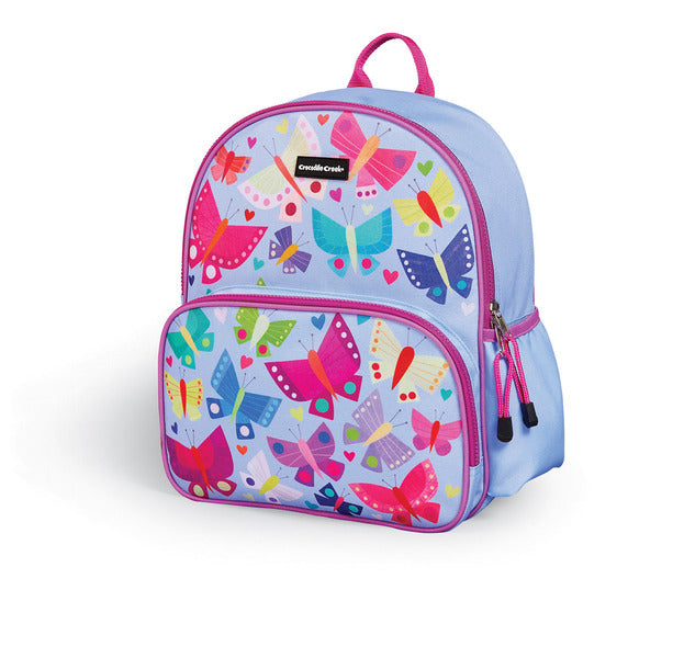 Crocodile Creek Kid's Backpack - Butterflies