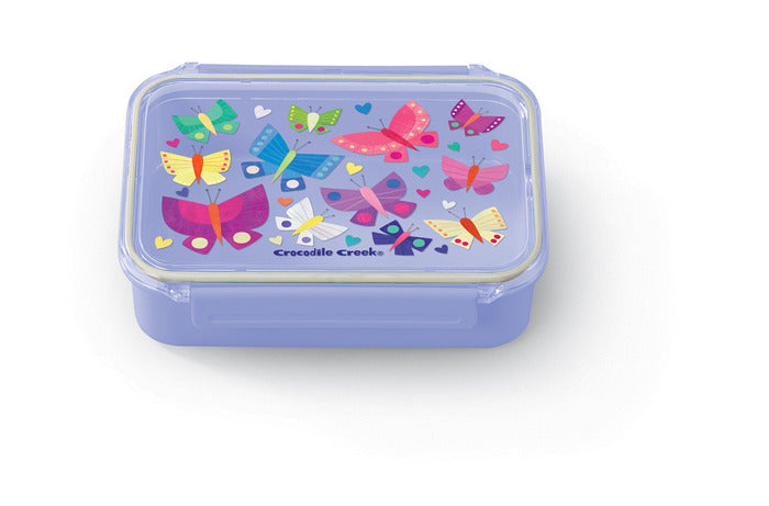 Crocodile Creek Bento Box - Butterflies