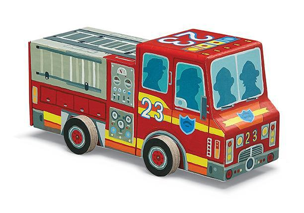 Crocodile Creek Puzzle - 48pc Firetruck Vehicle