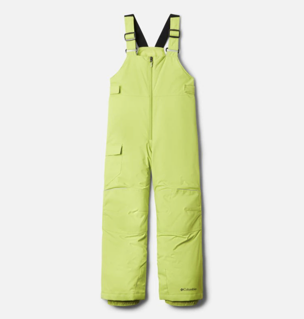 Columbia Snow Pant - Adventure Ride Bib - Bright Chartreuse