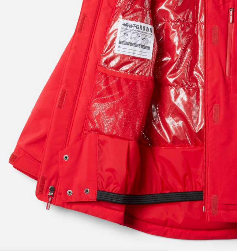 Columbia Jacket - Ava Alpine - Red Lily