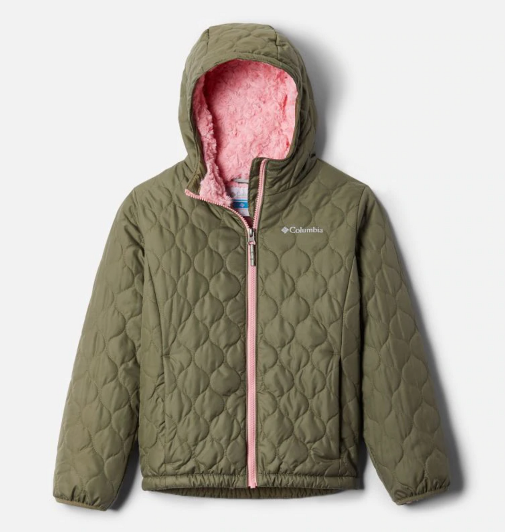 Columbia Jacket - Bella Plush - Stone Green