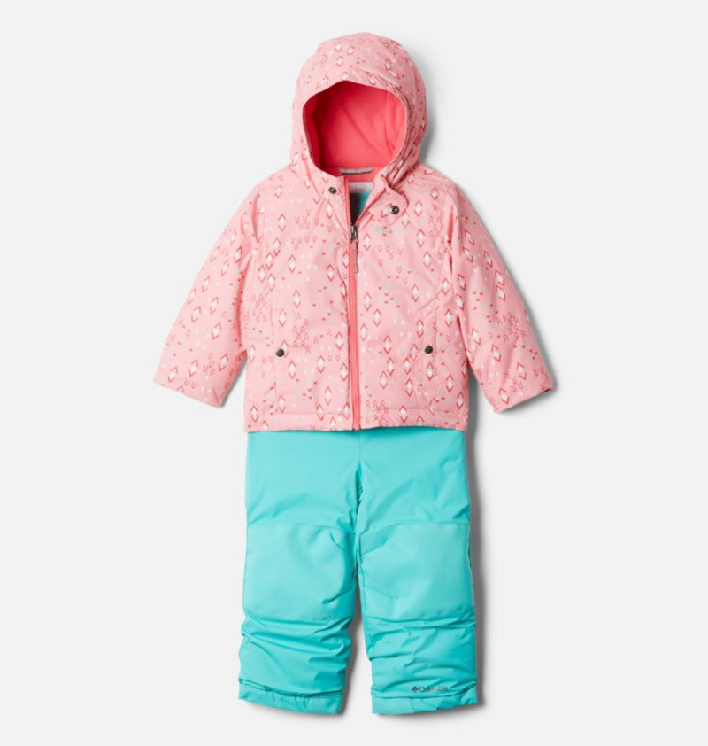 Columbia Snow Pant & Jacket Set - Frosty Slope - Pink Orchid Geo Sprinkle