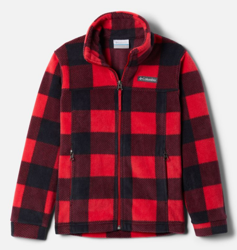 Columbia Fleece Jacket - Zing 3 - Mountain Red Check