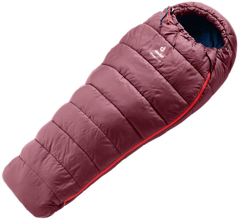 Deuter Sleeping Bag - Starlight - Maroon/Navy