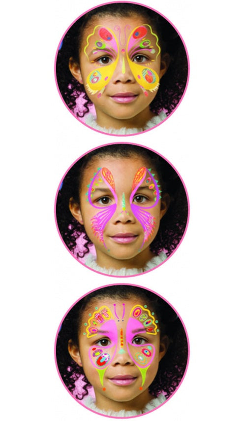 Djeco Face Paint Set - Butterfly