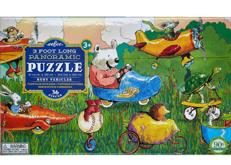 Puzzle 48pc - Busy Vehicles