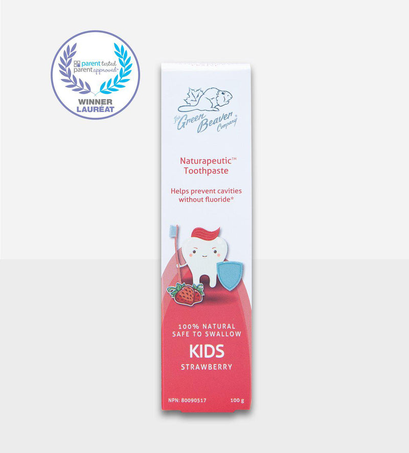 Green Beaver Naturapeutic Children's Toothpaste 100g - Strawberry