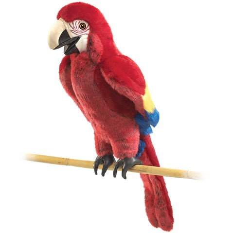 Puppet Scarlet Macaw