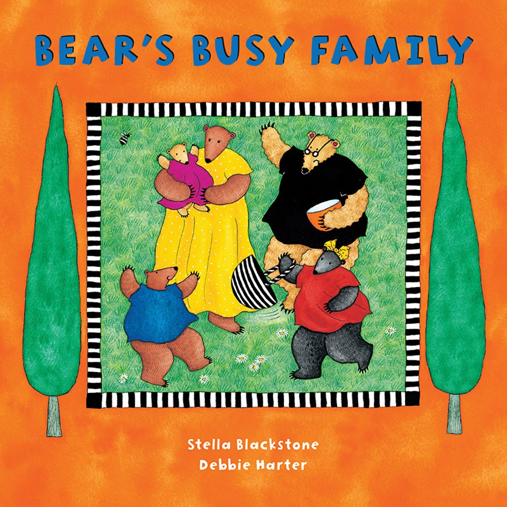 Board Book Bear's Busy Family