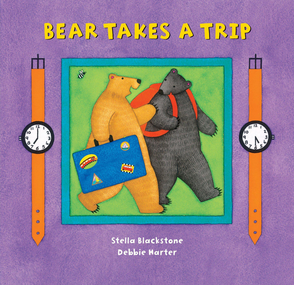 Board Book Bear Takes A Trip