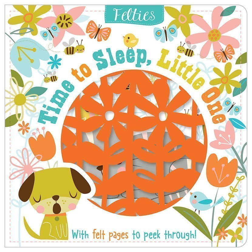 Board Book Felt Time To Sleep